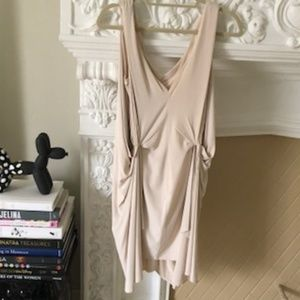 DVF - IVORY GODDESS DRESS, Size 2